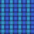 Seamless geometric twisted pattern vector texture repeating background Royalty Free Stock Images
