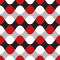 Seamless geometric wave twist pattern Royalty Free Stock Photo