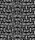 Seamless geometric zigzag lines pattern.