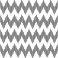 Seamless geometric zigzag pattern. Stock Image