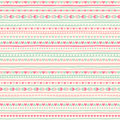 Seamless geometrical pattern with tiny heart and stripes