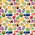 Seamless Gift pattern Stock Image