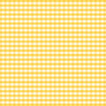 Seamless Gingham, Golden Yellow Royalty Free Stock Images