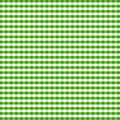 Seamless Gingham, Green Royalty Free Stock Photo