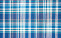 Seamless gingham tablecloth Royalty Free Stock Photography