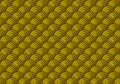 Seamless Gold Scales Pattern Royalty Free Stock Photo
