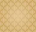 Seamless golden floral wallpaper diamond pattern image illustration Stock Photo