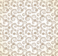 Seamless golden flourish wallpaper vector Stock Photography