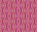 Seamless golden  pattern Royalty Free Stock Photos