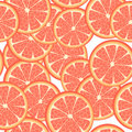 Seamless grapefruit Royalty Free Stock Photos