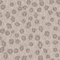 Seamless Gray Leopard Fur Patt...