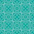 Seamless green abstract geometric eastern with arrow elements and arabesques