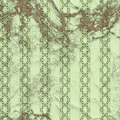 Seamless green edwardian wallpaper victorian decorative pattern Royalty Free Stock Photography