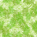 Seamless green leaves background illustration of a with thin for spring or summer nature wallpaper Royalty Free Stock Images