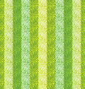 Seamless green leaves wallpaper vector Royalty Free Stock Image