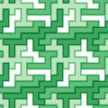 Seamless green tile pattern Royalty Free Stock Photography