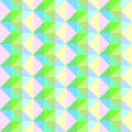 Seamless Green ZigZag Ornament. Vector Abstract Geometric Patter