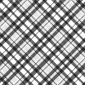 Seamless grey tartan plaid Royalty Free Stock Photos