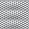 Seamless grey triangle pattern all triangles are grouped by color and can be easily modified vector illustration Royalty Free Stock Photo