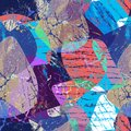 Seamless grunge abstract pattern. Multicolor background.
