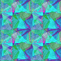 Seamless grunge background, kaleidoscopic brightly multicolored pattern,
