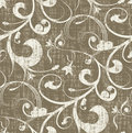 Seamless Grungy Pattern Stock Photography