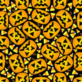 Seamless Halloween Background Royalty Free Stock Images