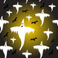 Seamless Halloween Background Ilustration Royalty Free Stock Photos