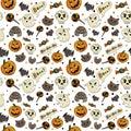 stock image of  Seamless Halloween pattern