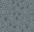 Seamless hand drawn abstract doodle pattern this is file of eps format Royalty Free Stock Photo