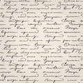 Seamless handwritten text pattern abstract Stock Images