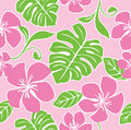 Seamless Hawaii Summer Pattern Royalty Free Stock Photo