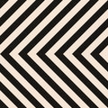 Seamless Hazard Stripes Royalty Free Stock Photography