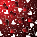 Seamless hearts Royalty Free Stock Photos