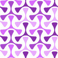 Seamless helices geometric pattern Royalty Free Stock Photo
