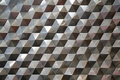 Seamless hexagonal metal pattern background, light and shade metal texture abstract Royalty Free Stock Photo