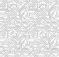 Abstract technology circuit board background texture, hi-tech electronic monochrome vector Royalty Free Stock Photo