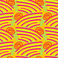 Seamless Hills Pattern Royalty Free Stock Images