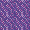 Seamless hipster background raindrops purple magenta pink Royalty Free Stock Photo