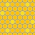 Honey Comb Colorful Pattern Royalty Free Stock Photo