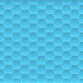 Seamless Honeycomb. Hexagon Background Pattern. Vector Royalty Free Stock Photo