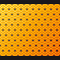 Seamless honeycomb pattern. Vector. Stock Image