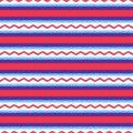 Seamless horizontal stripes pattern Royalty Free Stock Photo