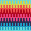 Seamless horizontal wavy stripes textile pattern Royalty Free Stock Photo