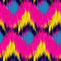 Seamless Ikat Pattern