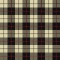 Seamless Plaid Pattern black background
