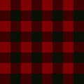 Seamless illustration - red tartan Royalty Free Stock Photo