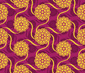 Seamless indian pattern Royalty Free Stock Images