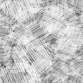 Seamless ink hand drawn scribble texture, abstract graphic design. Royalty Free Stock Photo