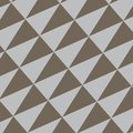 Seamless Isosceles Triangles in Diagonal Position Flat Style. Geometric Pattern in Gray and Brown Alternate Color